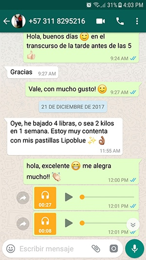 Testimonio Whatsapp 4